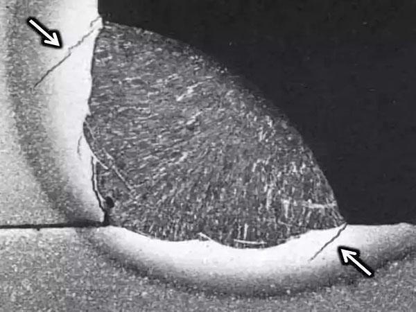 小经验 一级焊缝就是全熔透型焊缝吗